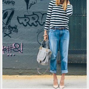 • loft boyfriend jeans •
